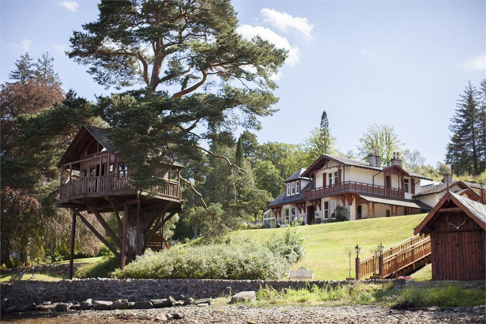 The Lodge on Loch Goil for hire