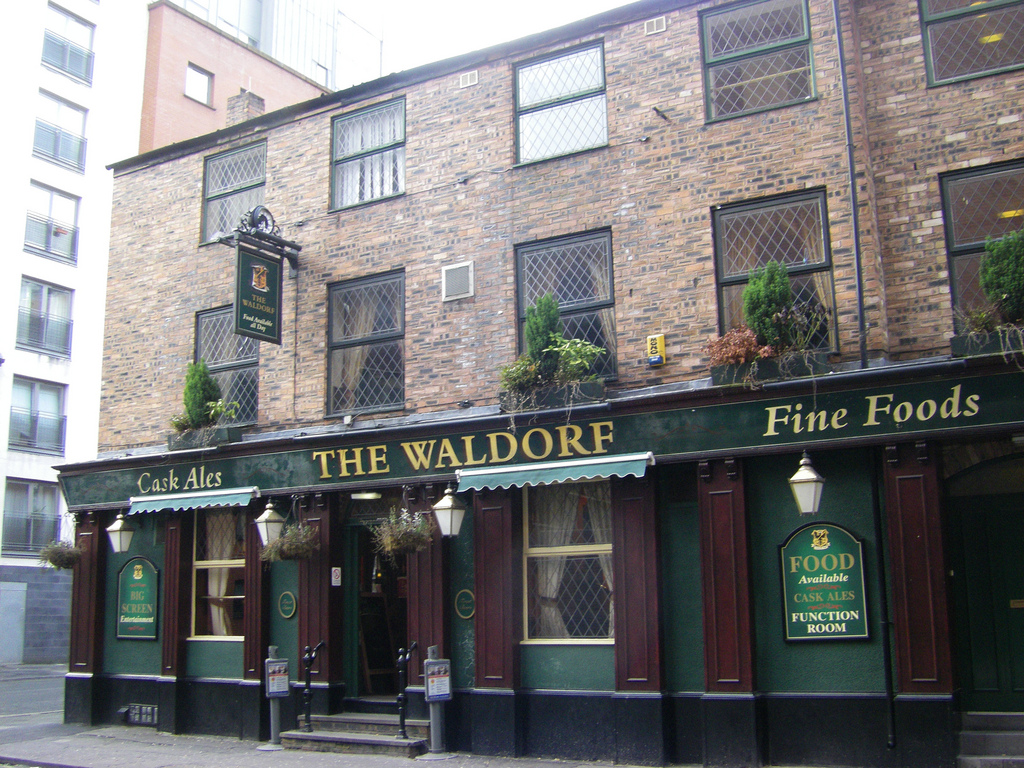 The Waldorf for hire