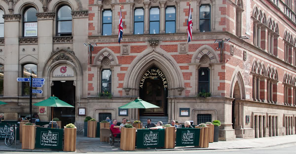 The Albert Square Chop House for hire