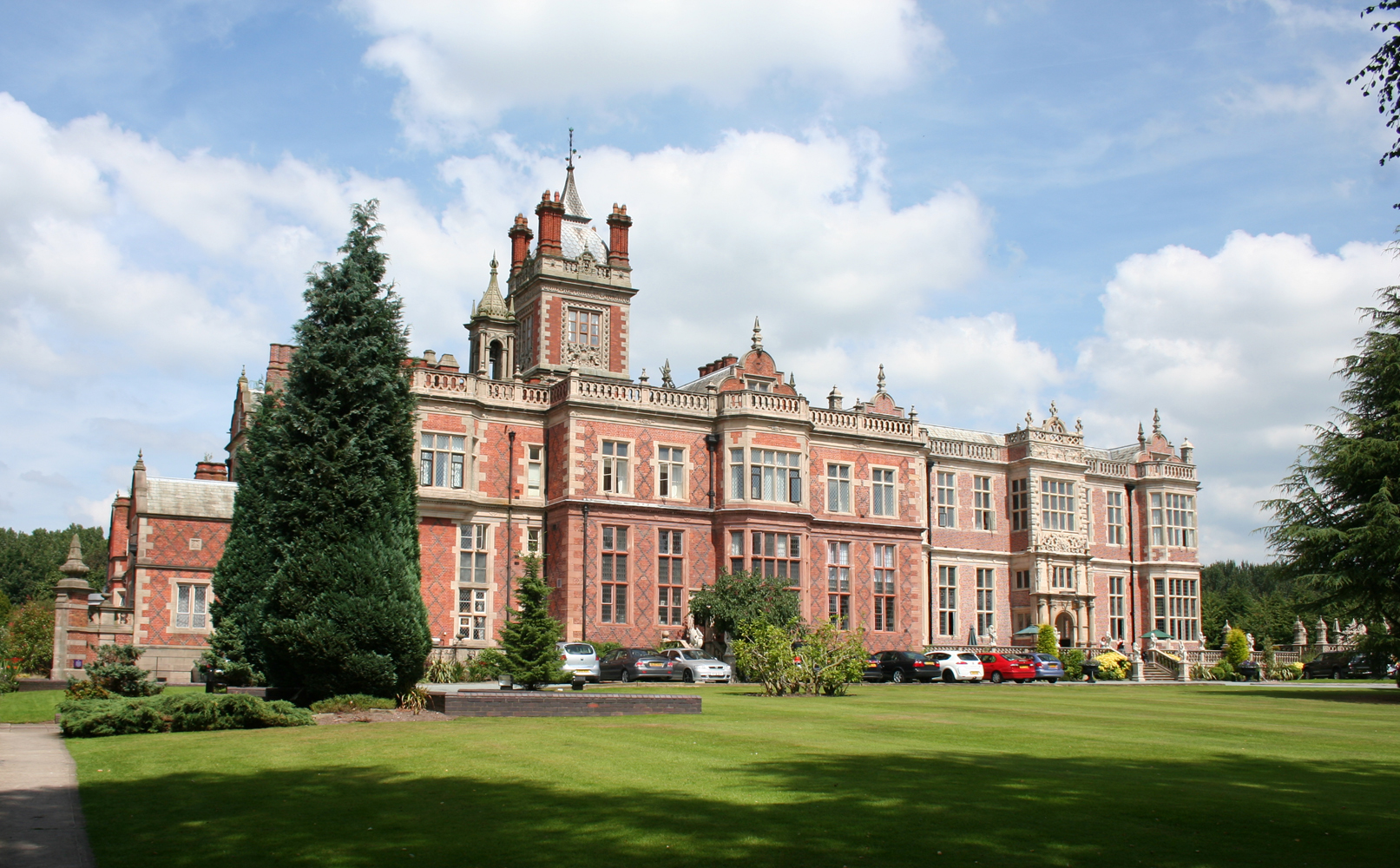 Crewe Hall for hire