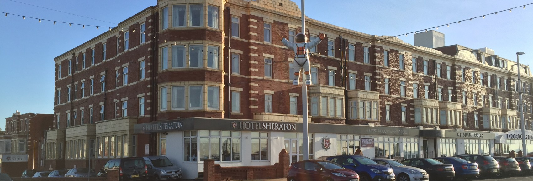 Hotel Sheraton, Blackpool for hire