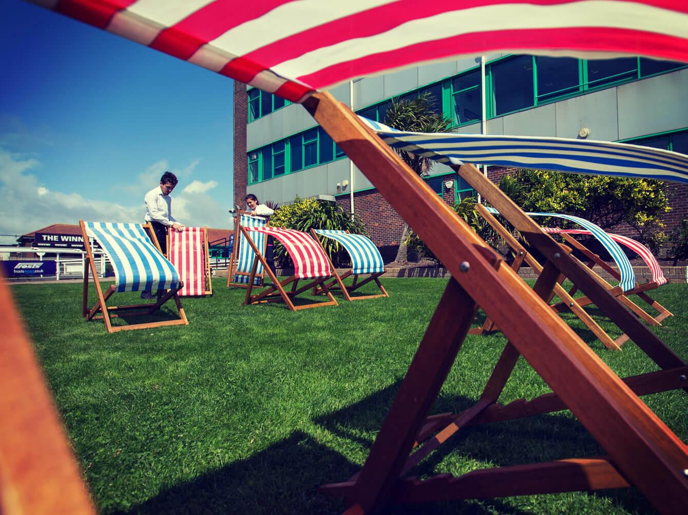Brighton Racecourse for hire