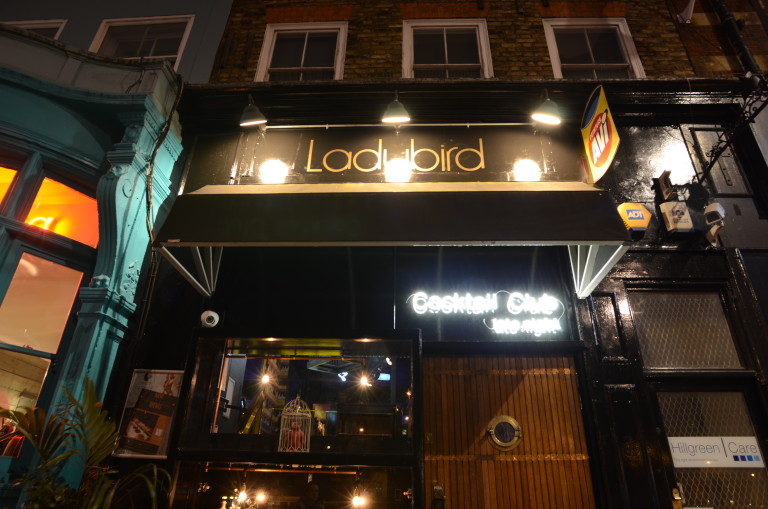 Ladybird Bar for hire