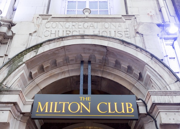 The Milton Club for hire