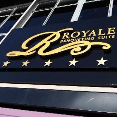 Royale Banqueting Suite for hire