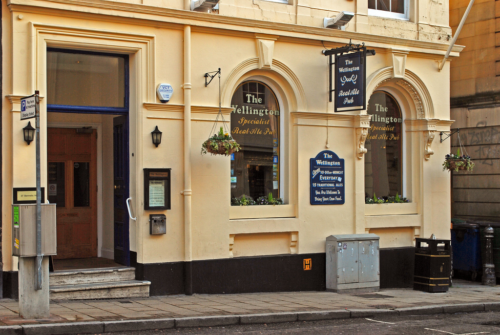 The Wellington for hire
