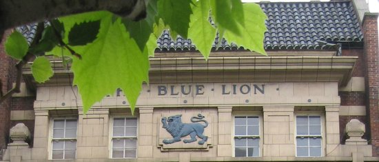 The Blue Lion for hire