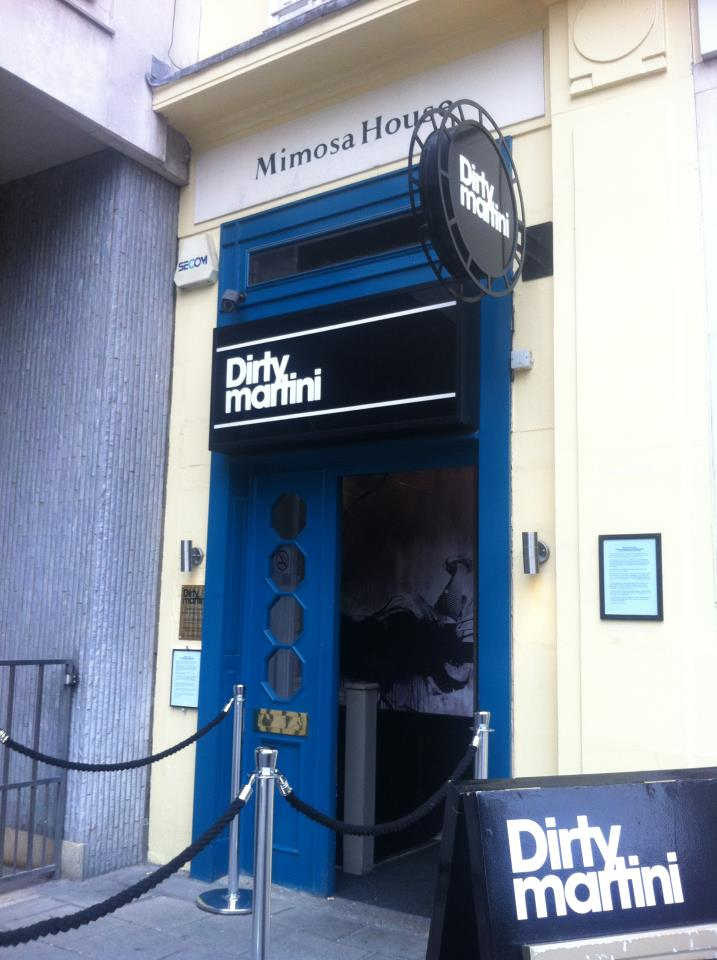 Dirty Martini Hanover Square for hire