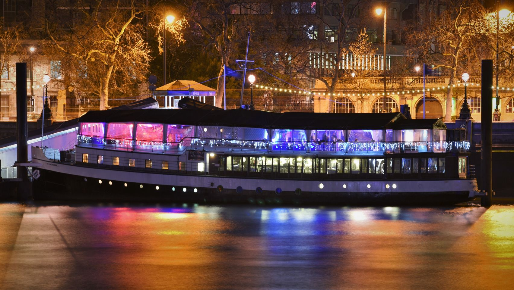The Yacht London for hire
