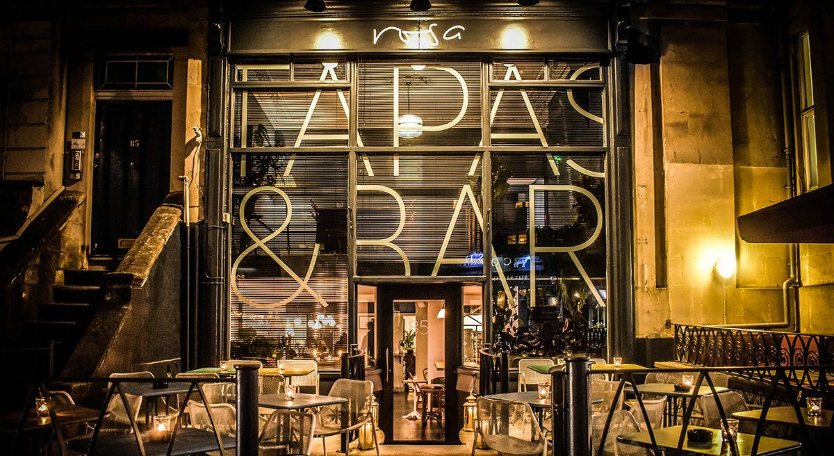 Rosa Tapas Bar for hire