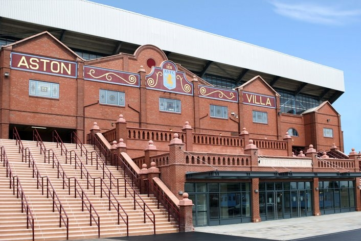 Aston villa football club for hire