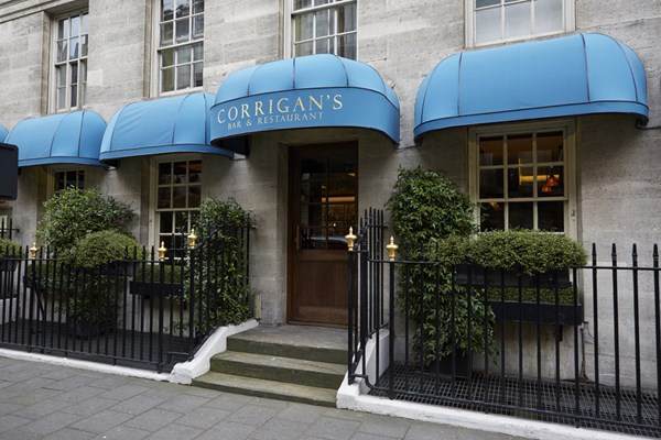 Corrigan's Mayfair for hire