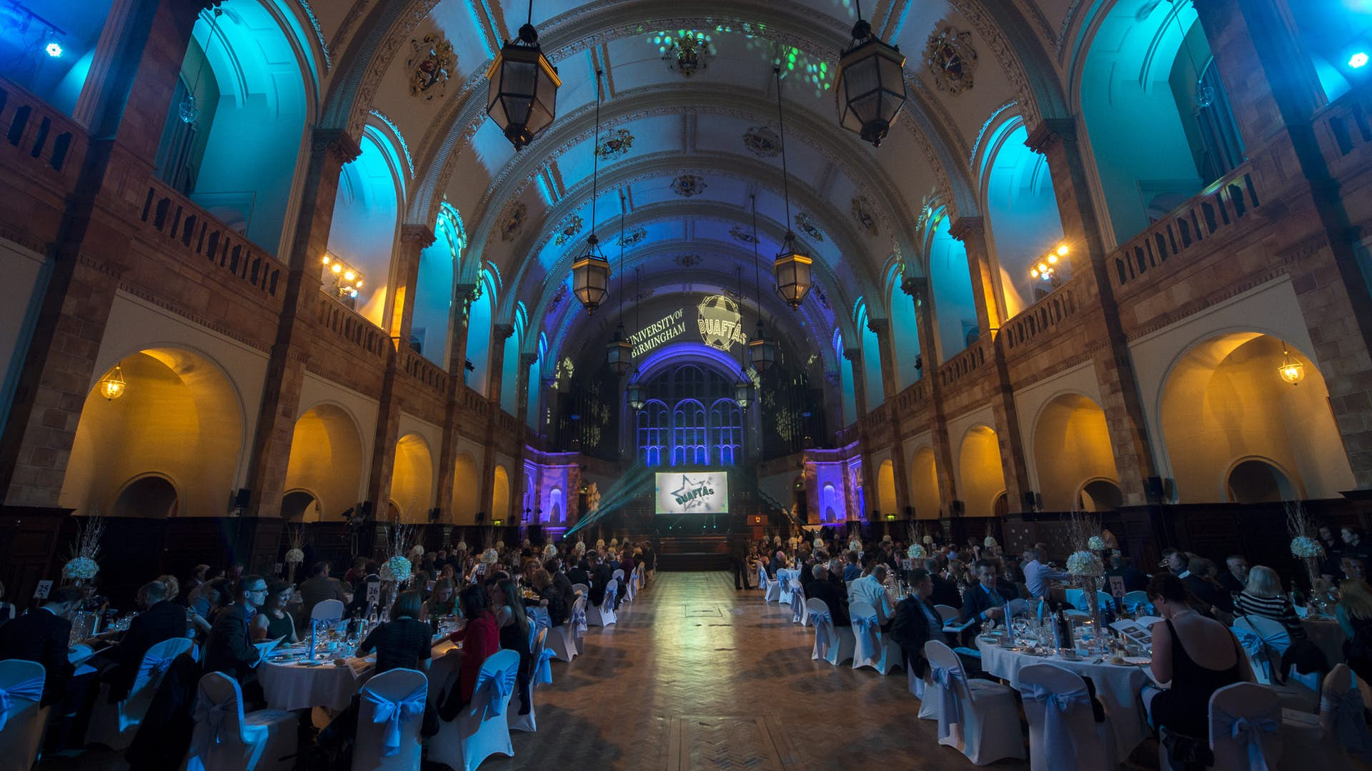 The Great Hall At the University of Birmingham for hire