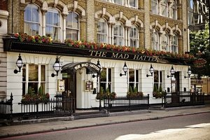 The Mad Hatter Hotel for hire