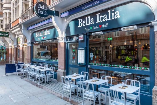 Bella Italia Baker Street for hire
