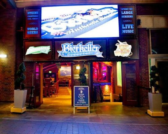 The Bierkeller Manchester for hire