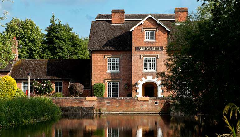 Arrow Mill Hotel for hire