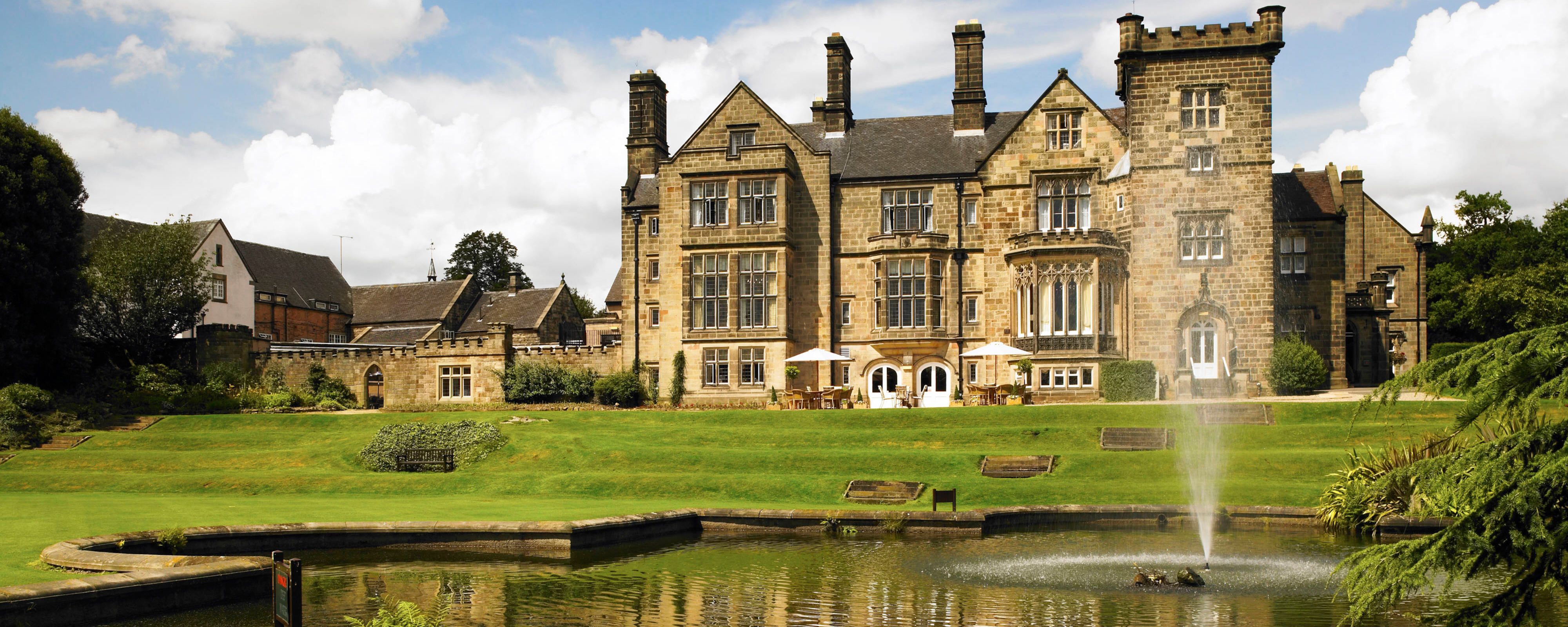 Breadsall Priory Hotel & Country Club for hire