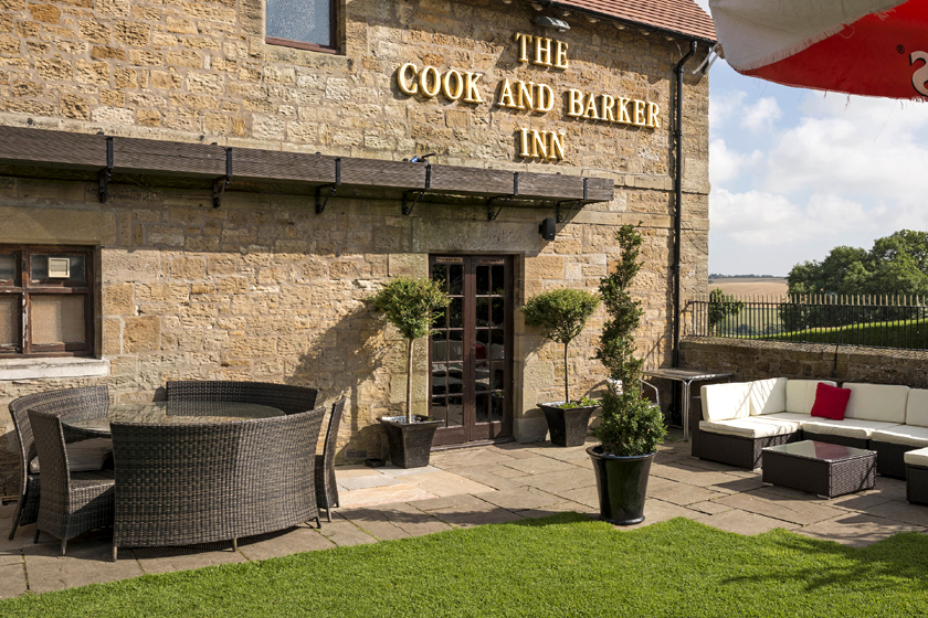 Cook and Barker Inn for hire