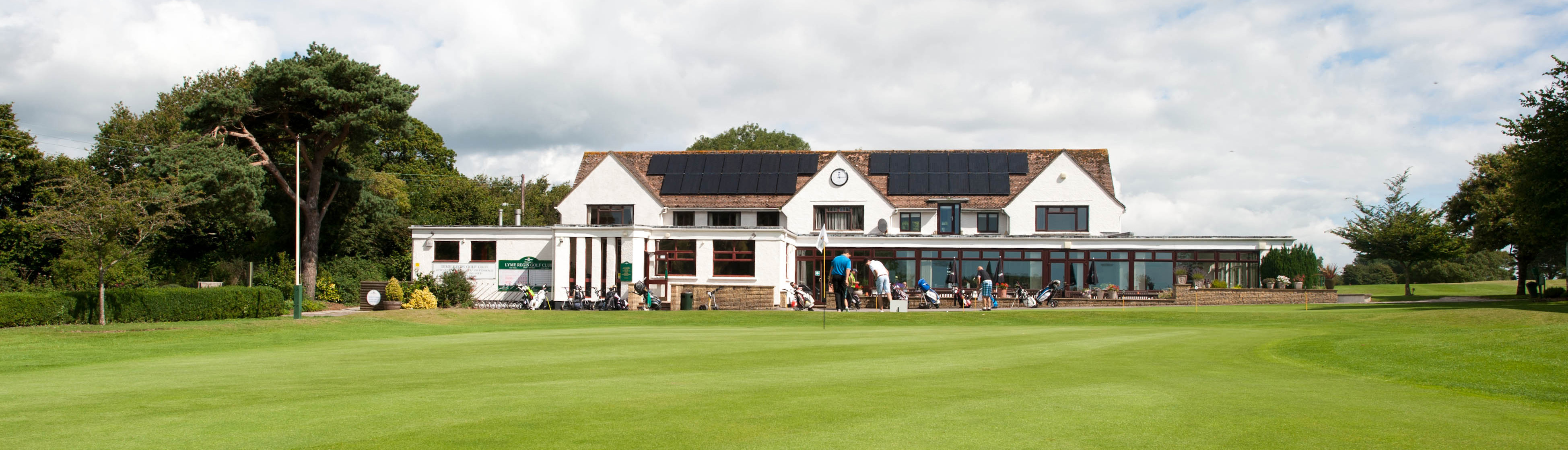 Lyme Regis Golf Club for hire