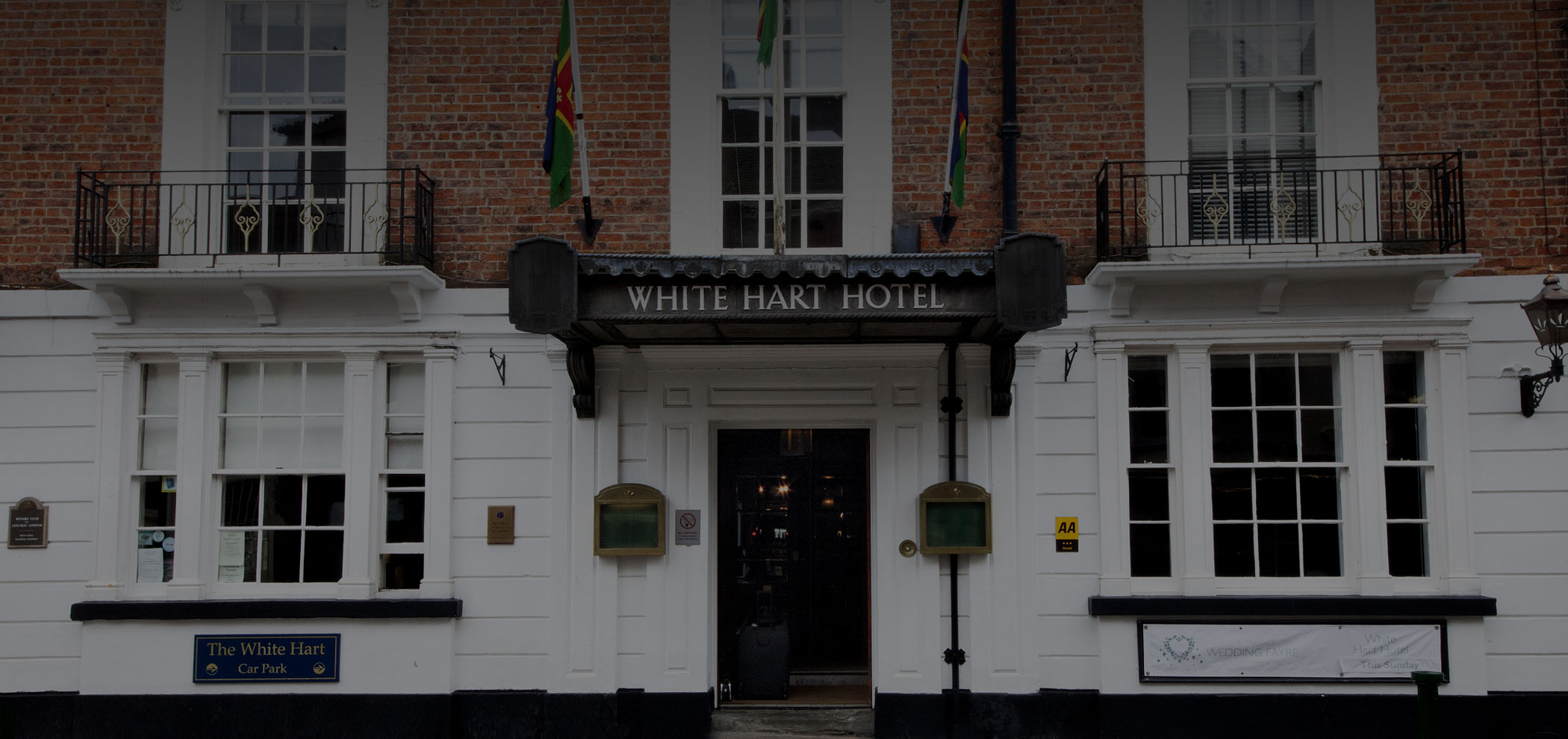 White hart hotel for hire