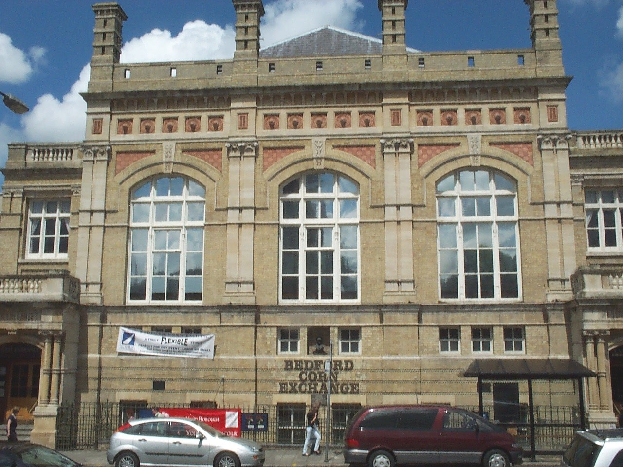 Bedford Corn Exchange for hire