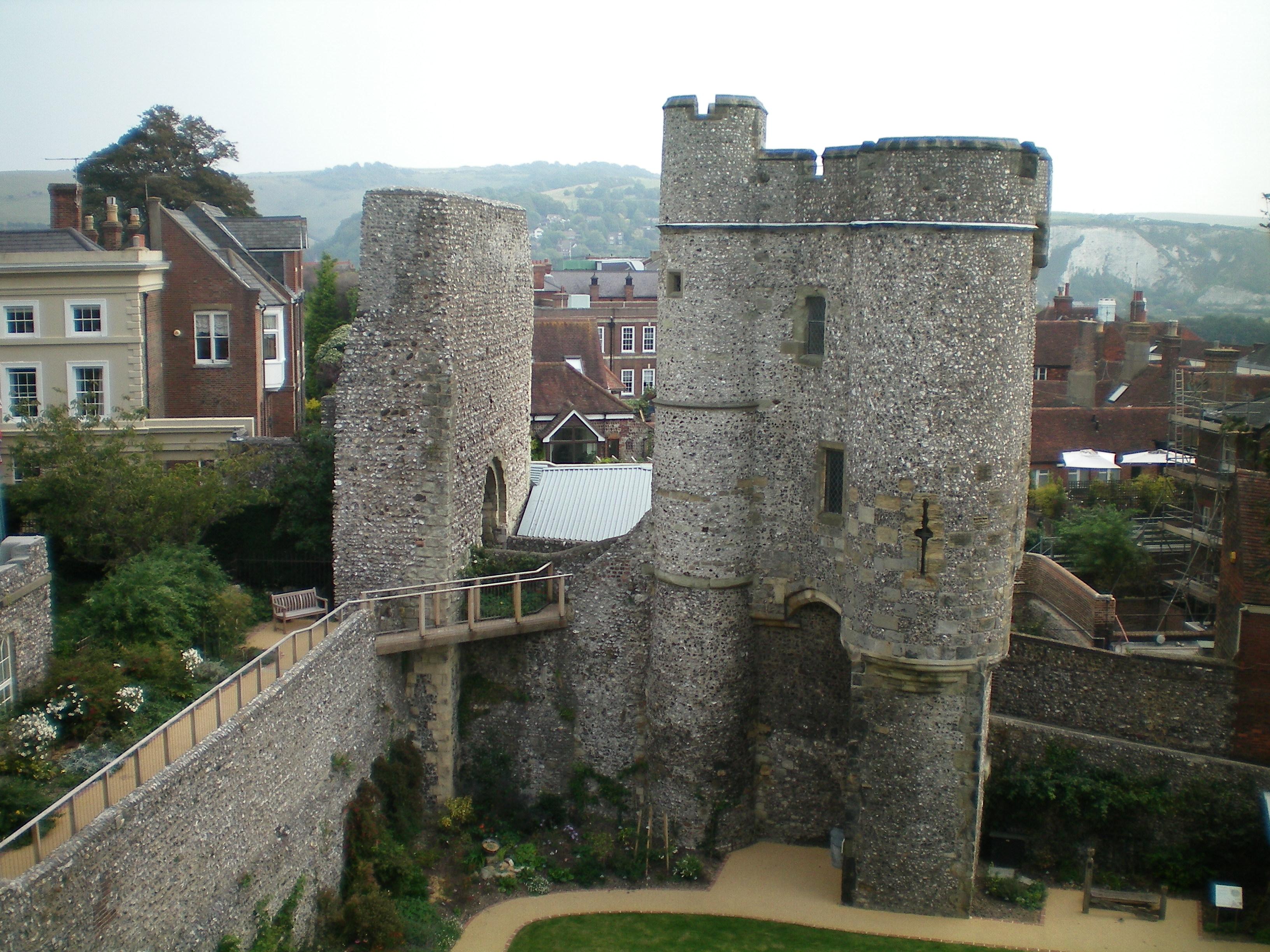 Lewes Castle for hire