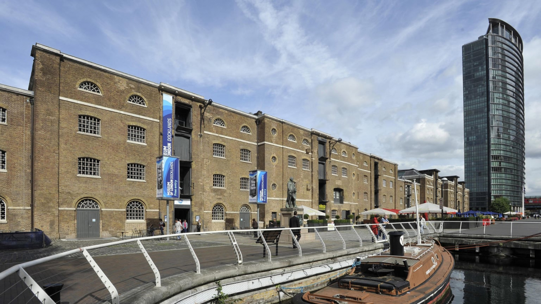 Museum of London Docklands for hire