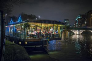 Glassboat Brasserie for hire