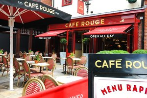 Cafe Rouge for hire