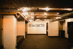 Concrete Space for hire