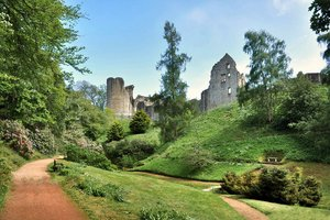 Kildrummy Castle Gardens for hire