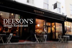 Deeson's British Restaurant for hire