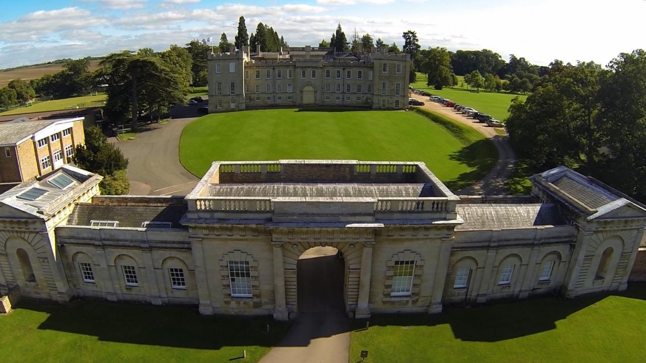Kimbolton Castle for hire