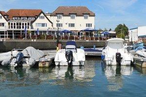 Salterns Harbourside Hotel for hire
