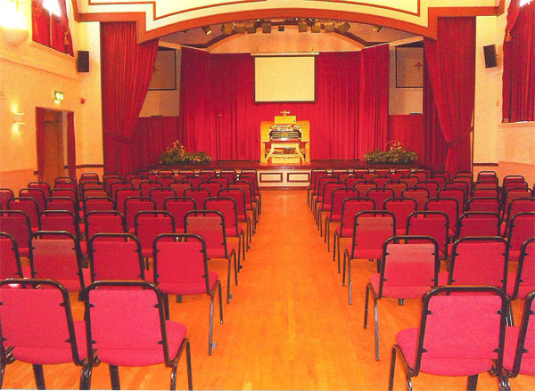 Fentham Hall for hire