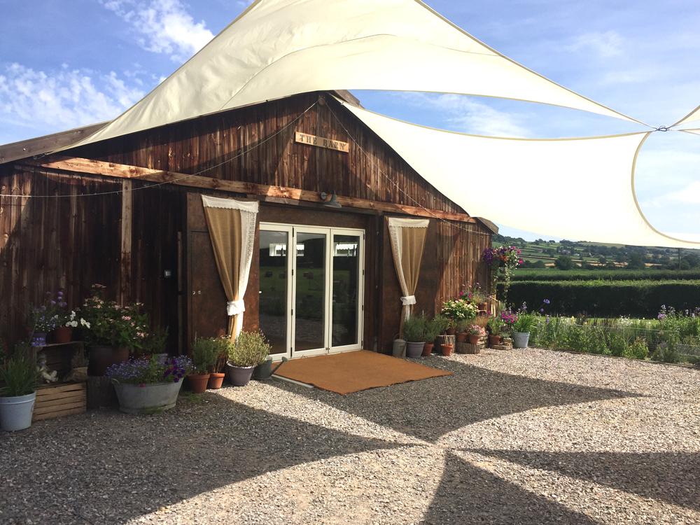 Cott Farm Barn for hire