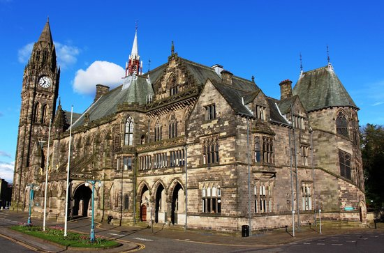 Rochdale Town Hall for hire