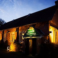 Hatton Village Hall for hire