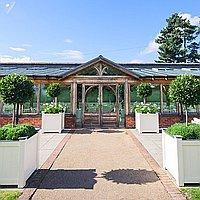 Gaynes Park Barns for hire