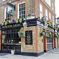 The Mawson Arms for hire