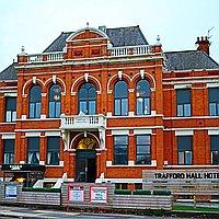 Trafford Hall hotel for hire