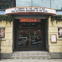 Impossible Bar and Theatre for hire
