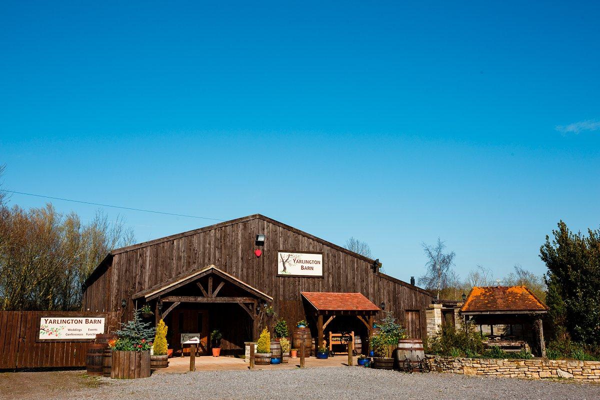 Yarlington Barn for hire